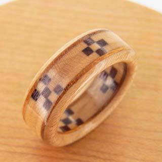 ミンサー織の指輪 八重山