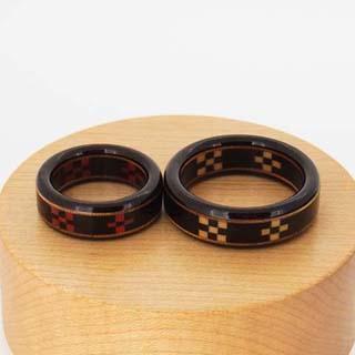 八重山ミンサー 指輪