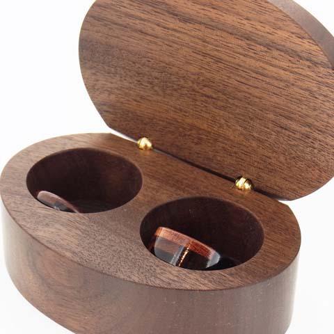 木の指輪 ステップ 10ミリ幅