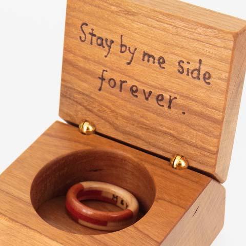 プロポーズ 指輪代わり