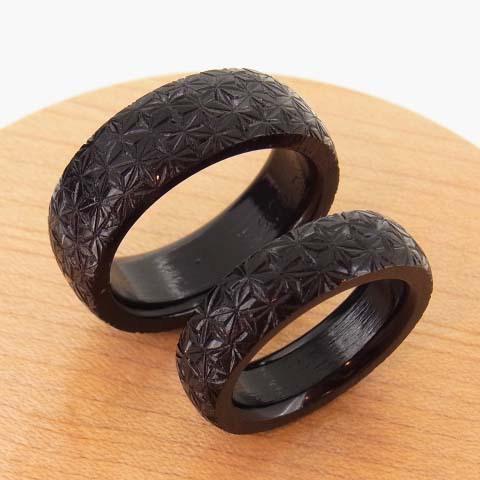 麻の葉 指輪