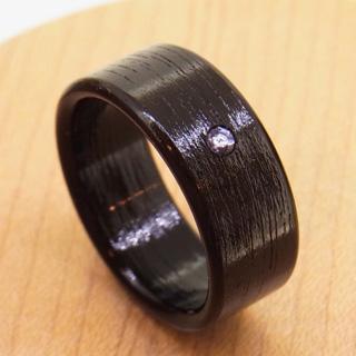 タンザナイトの指輪