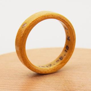 4月の誕生石の指輪