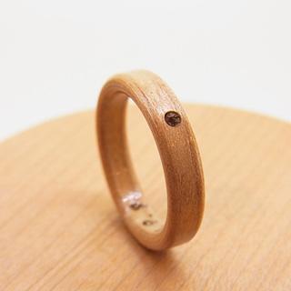 アクアマリンの指輪